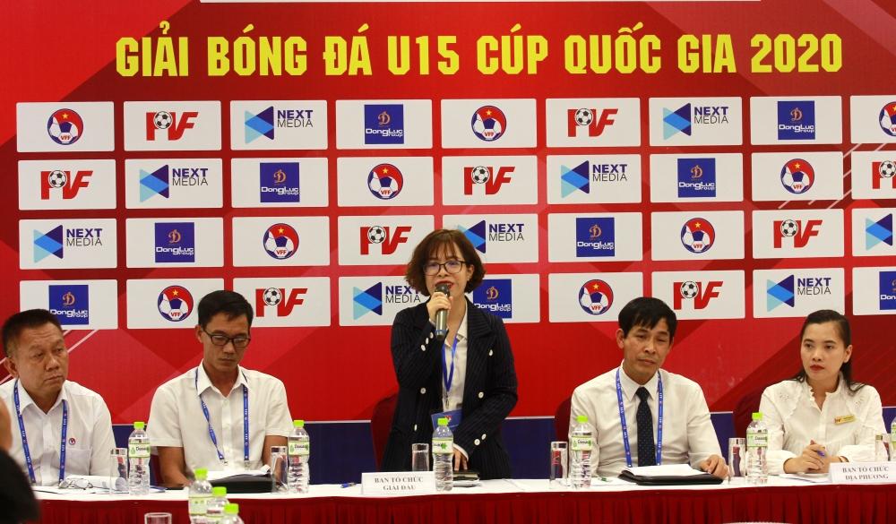 Sắp khởi tranh Vòng chung kết U15 Cúp Quốc gia 2020