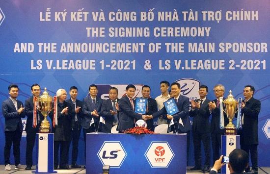 V-League công bố Nhà tài trợ mùa giải 2021