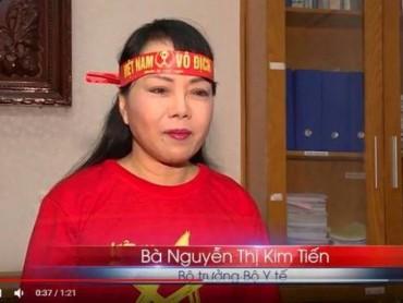 Bộ trưởng Bộ Y tế: Kêu gọi cổ động viên U23 ăn mừng một cách văn minh