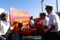 Thiêng liêng lễ tưởng niệm các anh hùng liệt sĩ hy sinh tại vùng biển phía Nam
