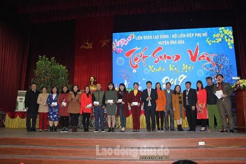 LĐLĐ huyện Ứng Hòa: Tập trung triển khai các hoạt động nhân Tháng Công nhân