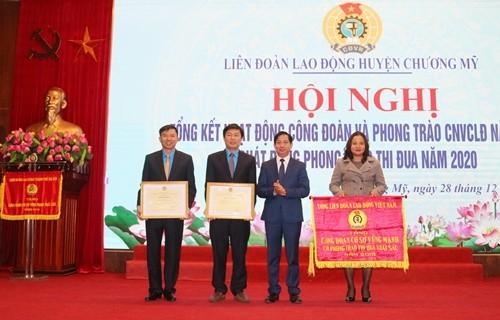 lien doan lao dong huyen chuong my cham lo toan dien cho nguoi lao dong