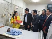 Kiểm tra công tác khám, chữa bệnh nhân dịp Tết Nguyên đán 2020