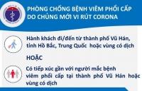 Ca bệnh viêm phổi cấp tại Việt Nam đã ổn định