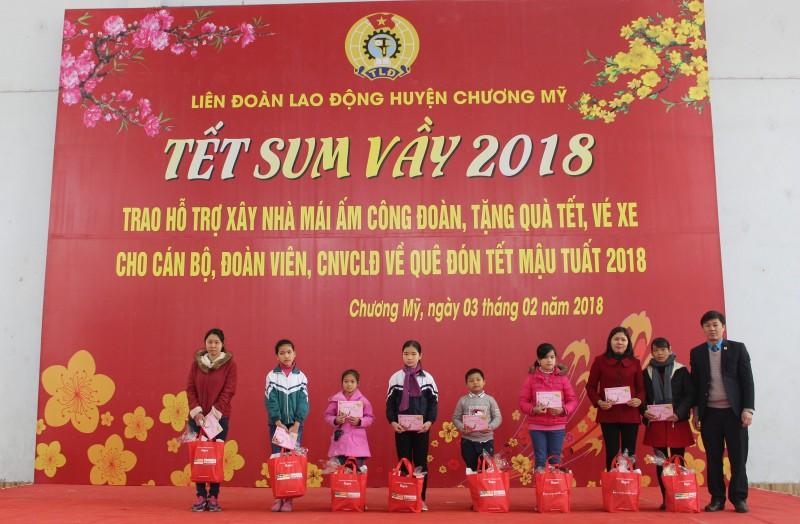 ldld huyen chuong my tet sum vay dong day yeu thuong
