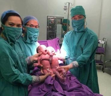 Bệnh viện Nhi Quảng Ninh: 2 bé trai sinh đôi đầu tiên ra đời nhờ thụ tinh ống nghiệm IVF