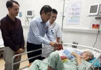 Công đoàn ngành Y tế Hà Nội: Thăm, tặng quà Tết cho bệnh nhân