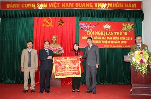 MTTQ Việt Nam huyện Chương Mỹ: Đơn vị xuất sắc trong phong trào thi đua