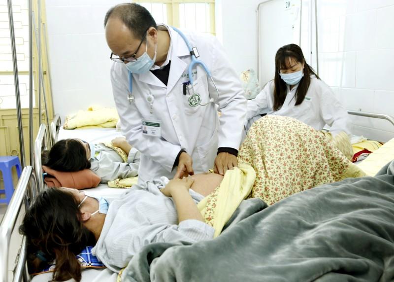 Hà Nội: Một bệnh nhân bị biến chứng viêm não do sởi