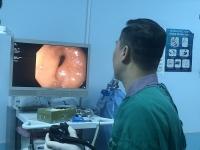 Cấp cứu thành công bệnh nhân bị tăm tre cắm vào dạ dày
