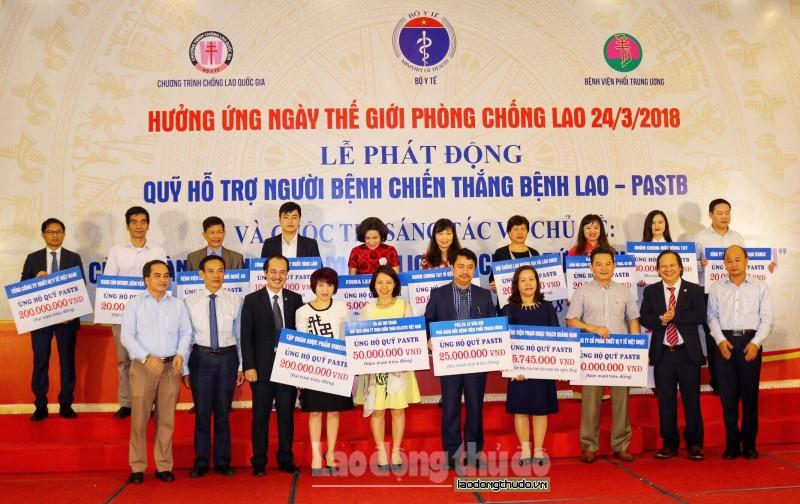 Thành lập Quỹ hỗ trợ người mắc bệnh lao