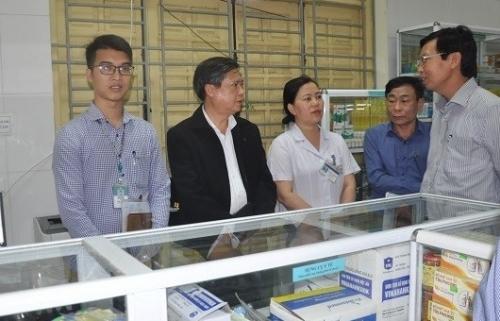 Kiểm tra công tác triển khai ứng dụng công nghệ thông tin kết nối các cơ sở cung ứng thuốc