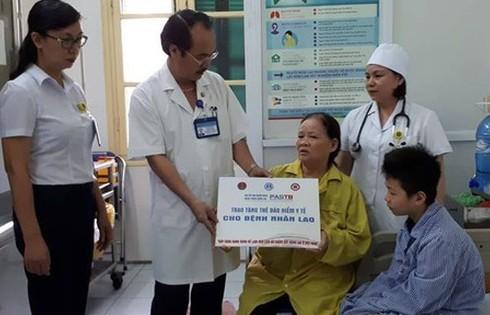 Chung tay nhắn tin ủng hộ người bệnh chiến thắng bệnh lao