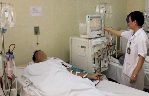 Ước tính có khoảng 8.000 ca bệnh suy thận mới mỗi năm