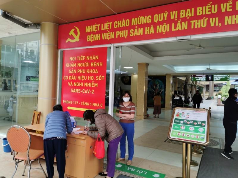 Bệnh viện Phụ sản Hà Nội: Chủ động phòng ngừa dịch Covid-19