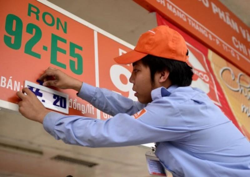 Giá xăng dầu đồng loạt tăng nhẹ 350 đồng/lít