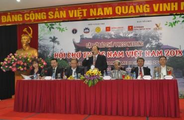 Hơn 300 doanh nghiệp tham gia Hội chợ thuốc nam Việt Nam 2018