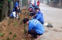 Huyện Chương Mỹ: Đoàn thanh niên tích cực tham gia bảo vệ môi trường