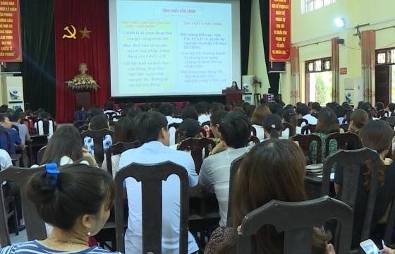Ứng Hòa: Khai mạc lớp tập huấn nghiệp vụ công tác công đoàn năm 2019