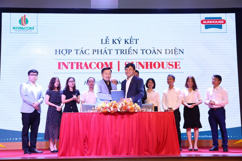 Intracom Group - Tập đoàn Sunhouse: Ký kết thỏa thuận phát triển toàn diện