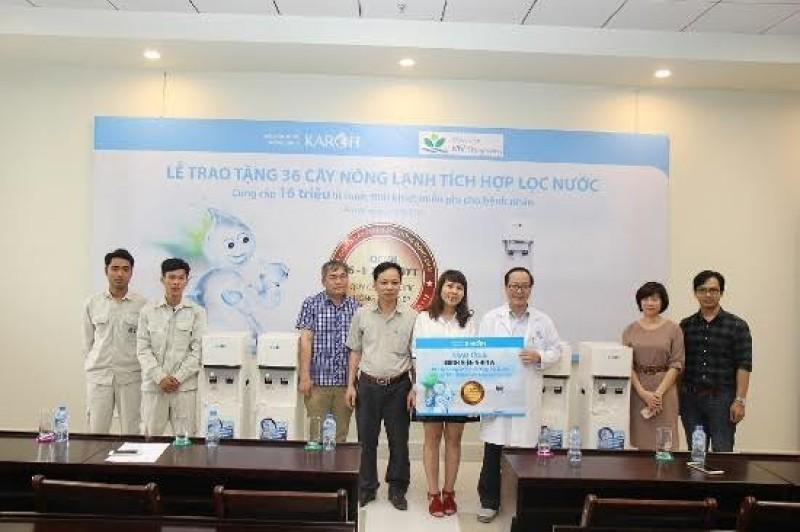 30 triệu lít nước tinh khiết dành cho bệnh nhân