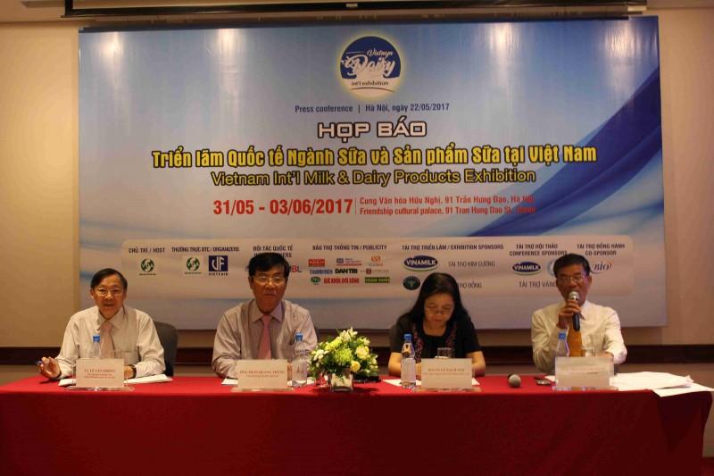 Giới thiệu nhiều thành tựu mới tại triển lãm quốc tế ngành sữa, sản phẩm sữa