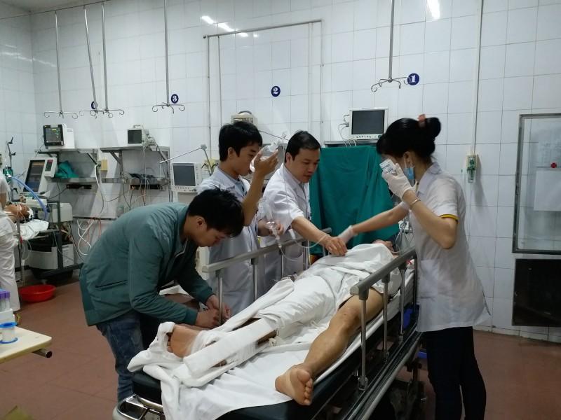Sau nghỉ lễ bệnh nhân tai nạn giao thông tại Bệnh viện Việt Đức tăng vọt