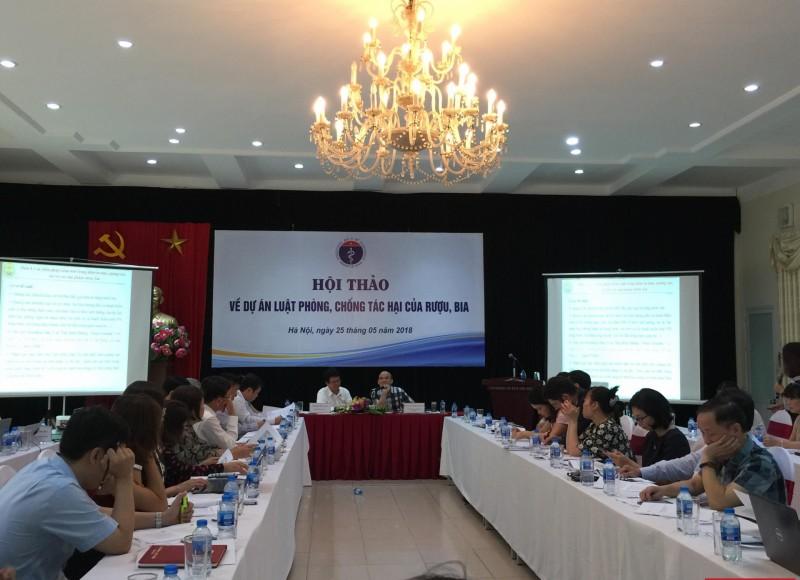 Việt Nam đứng thứ 94/194 nước thành viên WHO về lượng cồn nguyên chất tiêu thụ