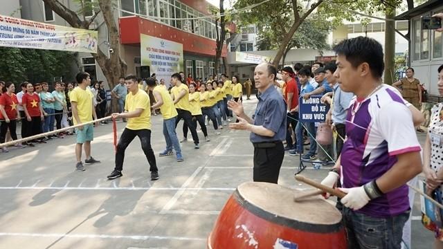 gan 1000 can bo nhan vien benh vien nhi trung uong tham gia hoi thao nam 2019