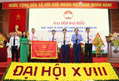 Đại hội đại biểu Mặt trận tổ quốc Việt Nam huyện Chương Mỹ lần thứ XVIII
