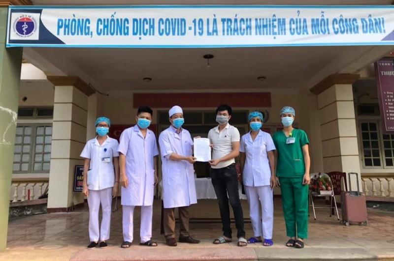 Bệnh nhân mắc Covid-19 cuối cùng điều trị tại Hà Tĩnh khỏi bệnh