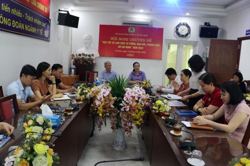 """Hội nghị chuyên đề """"Học tập và làm theo tư tưởng, đạo đức, phong cách Hồ Chí Minh"""""""
