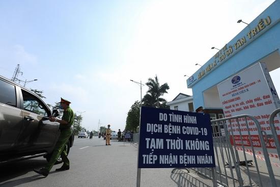 Bệnh viện K Tân Triều ghi nhận 10 trường hợp nghi nhiễm Covid-19