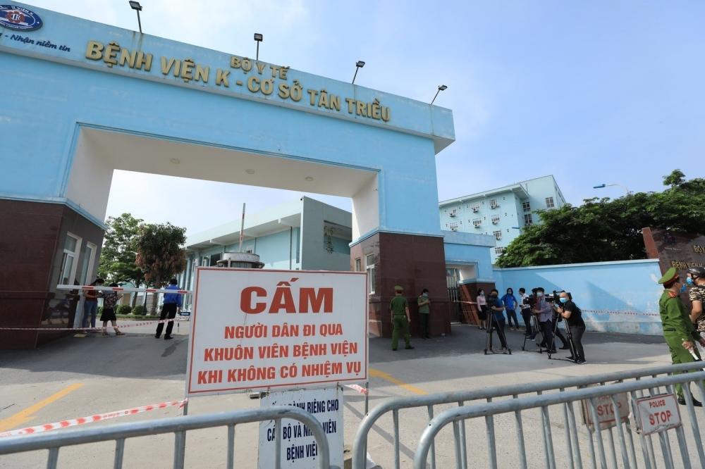 Hà Nội ghi nhận thêm 2 ca mắc Covid-19 ở Thanh Xuân và Phúc Thọ