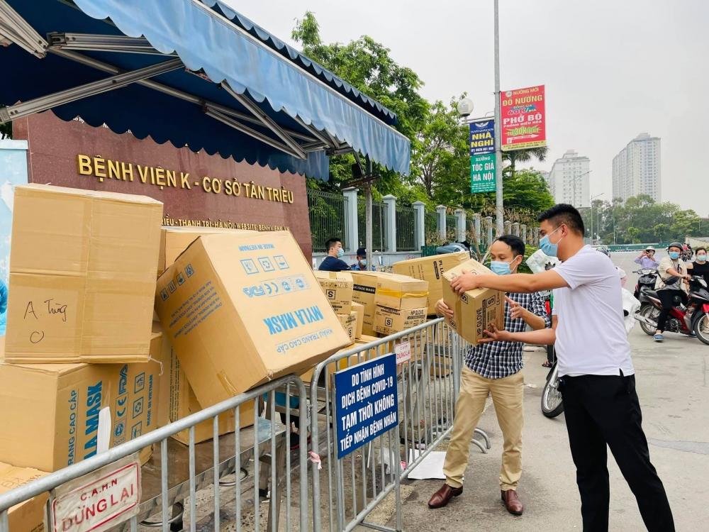 Nhiều bệnh viện Hà Nội hỗ trợ Bệnh viện K trang thiết bị y tế chống dịch Covid-19
