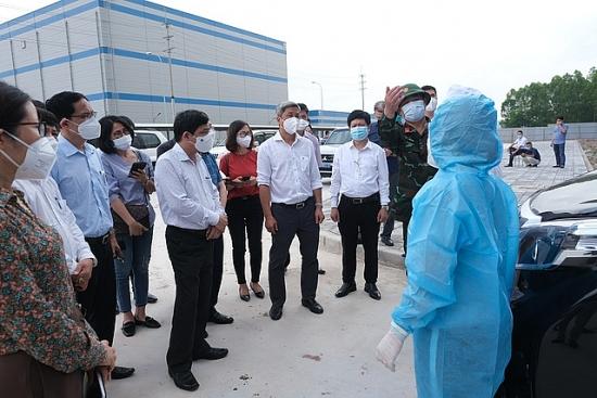 Đề nghị thành lập ngay đoàn kiểm tra công tác đảm bảo an toàn Covid-19 ở Khu Công nghiệp