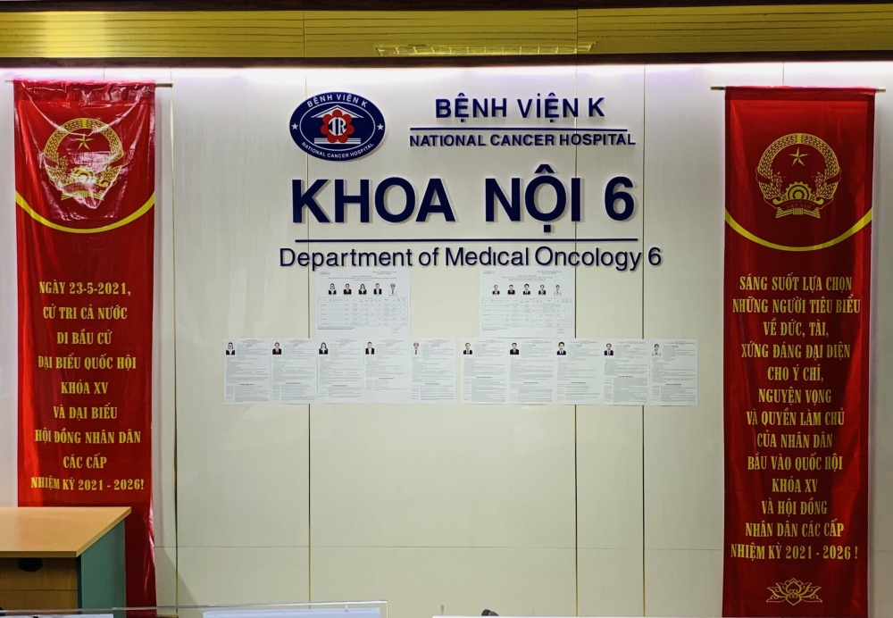 Bệnh viện K chuẩn bị công tác bầu cử trong tâm dịch