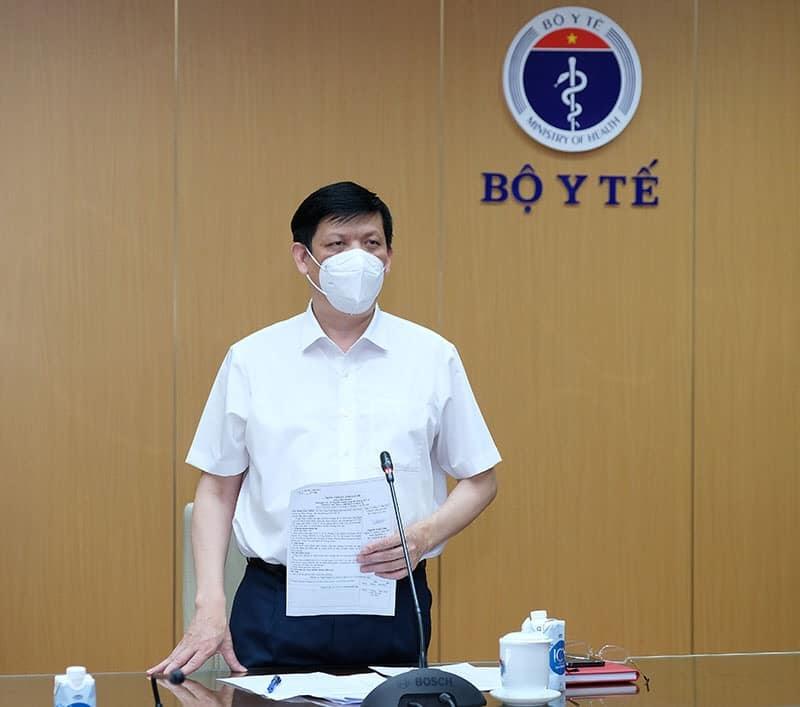 Bộ trưởng Bộ Y tế Nguyễn Thanh Long: Điều chỉnh, thay đổi đề phù hợp thực tiễn chống dịch