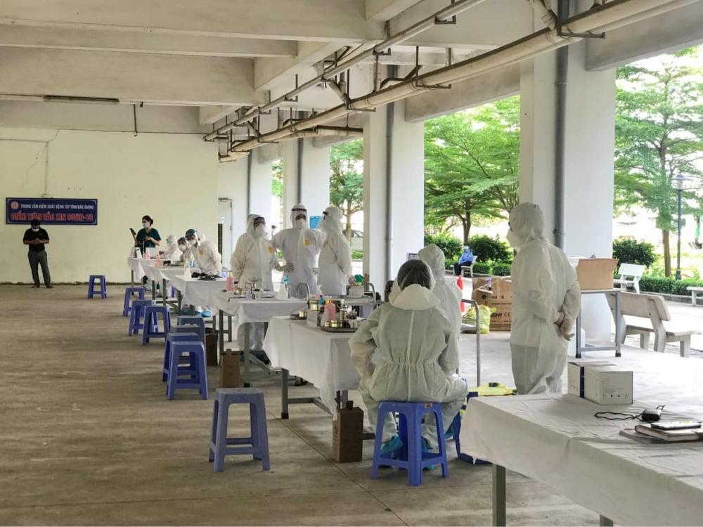 Trưa 29/5: Bắc Giang ghi nhận thêm 46 ca mắc Covid-19