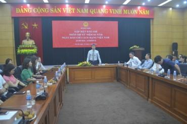 Gặp mặt báo chí nhân kỷ niệm 92 năm ngày Báo chí cách mạng Việt Nam