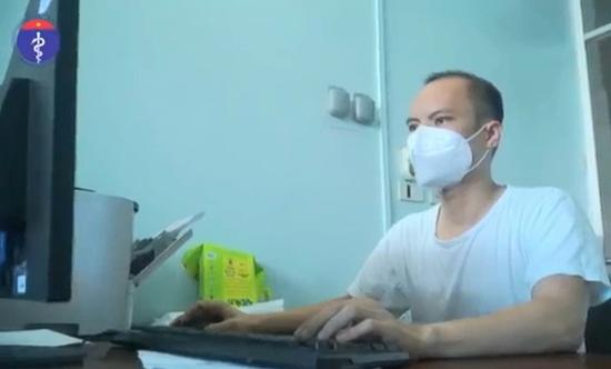 Bác sĩ tự sáng tạo phần mềm ứng dụng công nghệ thông tin ở tâm dịch Covid-19