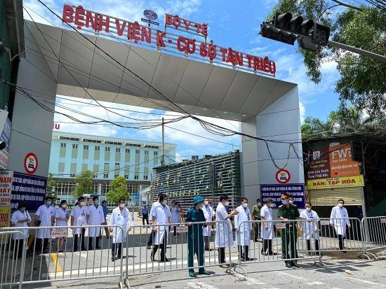 Bệnh viện K cơ sở Tân Triều kết thúc cách ly phòng, chống dịch Covid-19