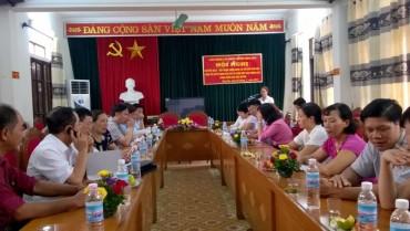 LĐLĐ huyện Ứng Hoà: Tiếp nhận CĐCS khối Giáo dục