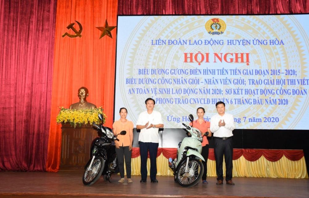 lien doan lao dong huyen ung hoa bieu duong guong dien hinh tien tien giai doan 2015 2020