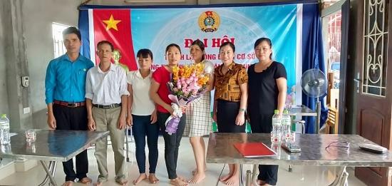 Ứng Hòa: Thành lập công đoàn cơ sở Công ty TNHH TM&DV vận tải Trung Thành