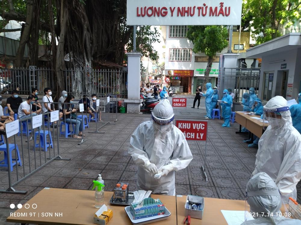Chiều 18/7: Hà Nội ghi nhận thêm 7 trường hợp dương tính với SARS-CoV-2