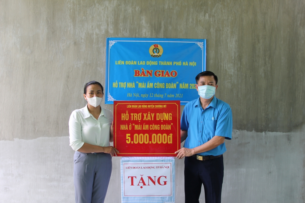 Trao hỗ trợ