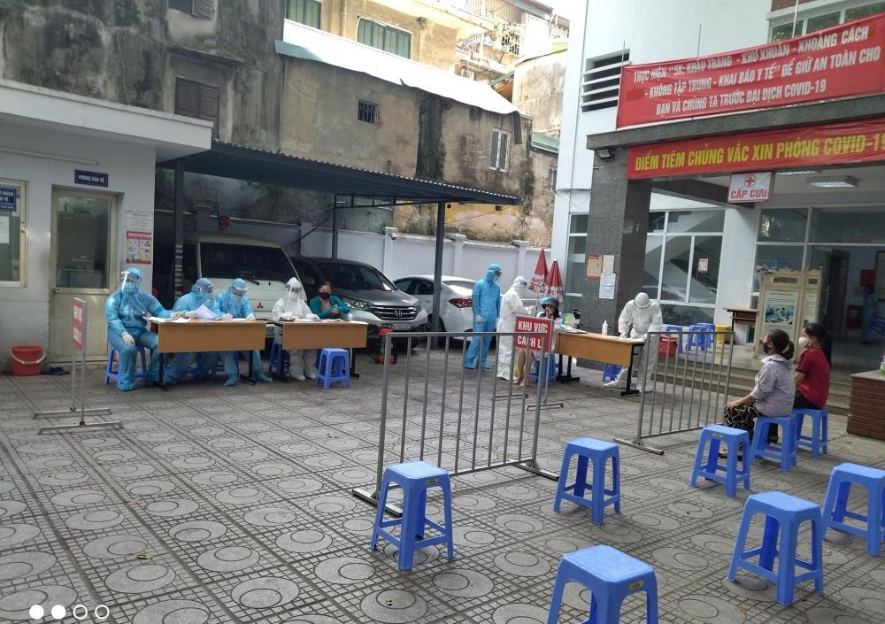 Chiều 21/7: Hà Nội ghi nhận thêm 6 ca mắc Covid-19 đều ở quận Hoàng Mai