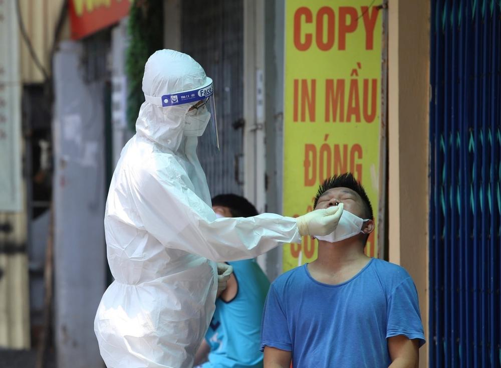 Sáng 30/7: Hà Nội có thêm 17 ca dương tính với SARS-CoV-2