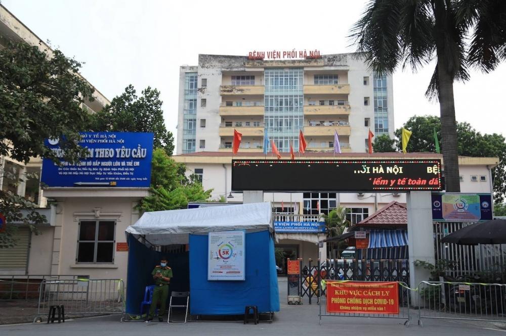 Ghi nhận 24 ca mắc Covid-19, Bệnh viện Phổi Hà Nội cách ly y tế toàn bệnh viện